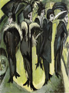 Five Women in the Street 1913 - Ernst Ludwig Kirchner