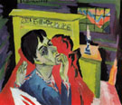 Self Portrait as a Sick Man c1918 - Ernst Ludwig Kirchner