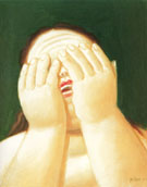 Wepping Woman 1999 - Fernando Botero