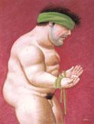 Untitled 2002 A - Fernando Botero