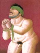 Untitled 2002 B - Fernando Botero