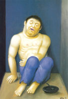 Kidnapping Victim Secuestrado 2002 - Fernando Botero