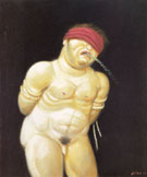 Untitled 1999 - Fernando Botero