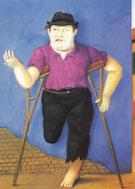 Displaced Persor Desplazado 2002 - Fernando Botero