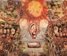 Moses 1945 - Frida Kahlo