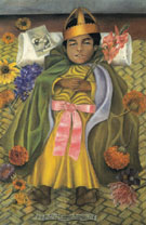 The Deceased Dimas 1937 - Frida Kahlo