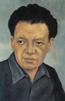 Portrait of Diego Rivera 1937 - Frida Kahlo