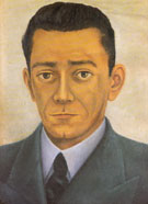 Portrait of the Engineer Edwardo Morillo Zafa 1944 - Frida Kahlo