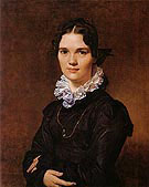 Mademoiselle Jeanne Suzanne Catherine Gonin 1822 - Jean Augusste Ingres