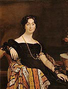 Madame Jacques Louis Leblanc 1823 - Jean Augusste Ingres
