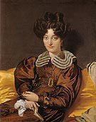 Madame Marie Marcotte 1826 - Jean Augusste Ingres