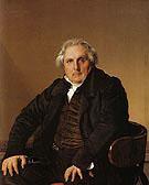 Louis Francois Bertin 1832 - Jean Augusste Ingres