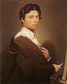 Self Portrait 1804 - Jean Augusste Ingres