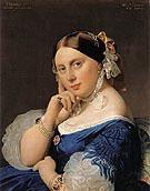 Madame J A D Ingres 1859 - Jean Augusste Ingres