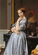 Vicomtesse Othnin d Haussonville 1845 - Jean Augusste Ingres