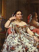 Madame Paul Sigisbert Moitessier 1856 - Jean Augusste Ingres