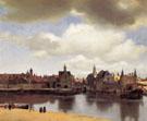 View of Delft c1660 - Jan Vermeer