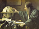 The Astronomer Detail 1668 - Jan Vermeer