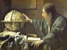 The Astronomer Detail 1668 - Jan Vermeer