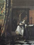 Allegory of Faith c1671 - Jan Vermeer