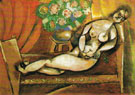 Reclining Nude 1911 - Marc Chagall