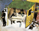 The Feast of the Tabernacles 1916 - Marc Chagall