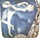 The Painter to the Moon 1917 - Marc Chagall