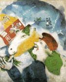 Peasant Life 1925 - Marc Chagall