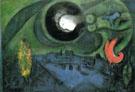 Le Quai de Bercy 1953 - Marc Chagall