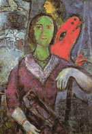 Portrait of Vava 1966 - Marc Chagall