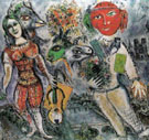 The Players 1968 - Marc Chagall