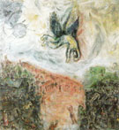 The Fall of Icarus 1975 - Marc Chagall