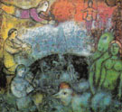 The Grand Parade c1979 - Marc Chagall