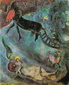 Madonna with the Sleigh 1947 - Marc Chagall