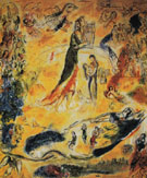 The Sources of Music 1967 - Marc Chagall