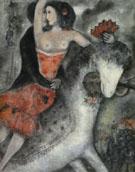 Circus Rider 1913 - Marc Chagall