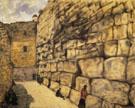 The Wailing Wall 1932 - Marc Chagall