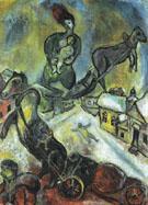 The War 1943 - Marc Chagall