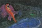 Bridges over the Seine 1954 - Marc Chagall
