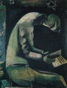 Jew at Prayer c1912 - Marc Chagall