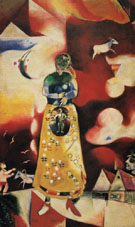 Pregnant Woman Maternity 1913 - Marc Chagall