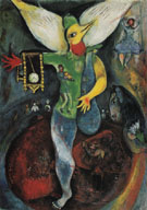 The Juggler 1943 - Marc Chagall