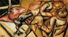 Interior II 1911 - Marc Chagall