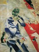 Half Past Three The Poet 1911 - Marc Chagall