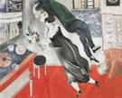 The Birthday 1915 - Marc Chagall