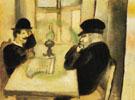The Smolensk Newpaper 1914 - Marc Chagall
