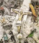 White Crucifixion 1938 - Marc Chagall