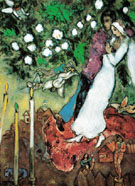 Three Candles - Marc Chagall