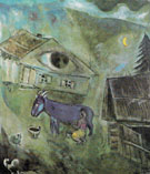 The House with the Green Eye 1944 - Marc Chagall