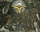 Exodus c1952 - Marc Chagall